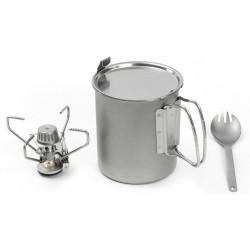 Набор посуды с горелкой Snow Peak Starter Kit SCS-005TK