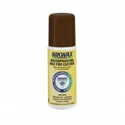 Пропитка для изделий из кожи Nikwax Waterproofing Wax for Leather Brown 125 ml