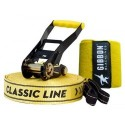 GIBBON CLASSICLINE XL X13 TREE PRO SET 25 m Slackline Set yellow