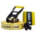 GIBBON CLASSICLINE XL X13 TREE PRO SET 25 m Slackline Set yellow