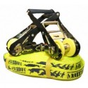 GIBBON FLOWLINE X13 18 m Slackline Set yellow