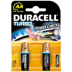 Батарейки Duracell AA Turbo