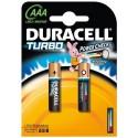 Батарейки Duracell AAA Turbo