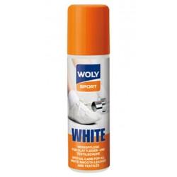 Крем-краска белая для обуви Woly Sport White 75 ml