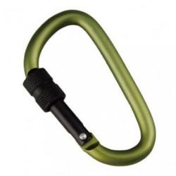 Брелок-карабин Munkees Carabiner D-Form Screw Lock