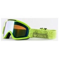 Маска Dragon DX2 Stone Green/Green Ion+Amber