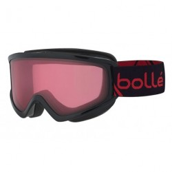 Маска Bolle Freeze Shiny Black&Red/Vermillion