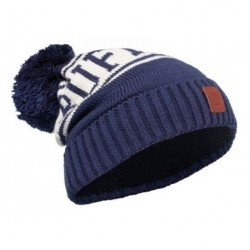 Buff® Junior Knitted&Polar Hat Shiko Medieval Blue 113529.783