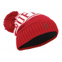 Buff® Junior Knitted&Polar Hat Shiko Red 113529.425