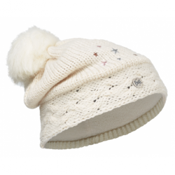 Buff® Junior Knitted&Polar Hat Darsy Starwhite 113528.009