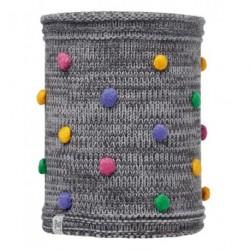 Buff® Child Knitted&Polar Neckwarmer Odell Grey Vigore 113446.930
