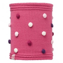 Buff® Child Knitted&Polar Neckwarmer Odell Ibis Rose 113446.518