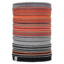 Buff® Junior Knitted&Polar Neckwarmer Amity Grey Castlerock 113537.929