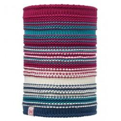 Buff® Junior Knitted&Polar Neckwarmer Amity Pink Cerisse 113537.521