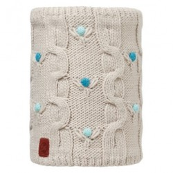 Buff® Junior Knitted&Polar Neckwarmer Dysha Mineral 113535.907