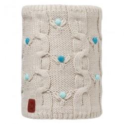 Buff® Junior Knitted&Polar Neckwarmer Dysha Mineral 113535.907