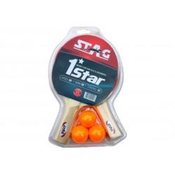 Набор для настольного тенниса Stag One Star Play Set Two Bats