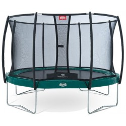 Батут Berg Elite+ Regular с защитной сеткой Safety Net T-series 430 см