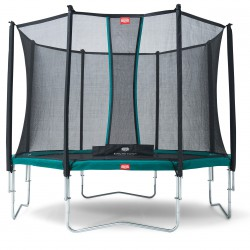 Батут Berg Favorit Tattoo с защитной сеткой Safety Net Comfort 430 см