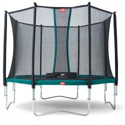 Батут Berg Favorit с защитной сеткой Safety Net Comfort 430 см
