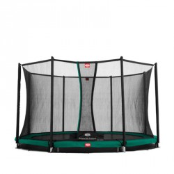 Батут Berg Favorit InGround с защитной сеткой Safety Net Comfort 430 см