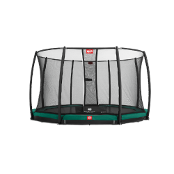 Батут Berg Favorit InGround с защитной сеткой Safety Net Comfort 270 см