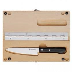 Нож Snow Peak CS-207 кухонный + разделочная доска M
