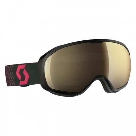 Маска Scott Black/Pink Light Sensitive Bronze Chrome