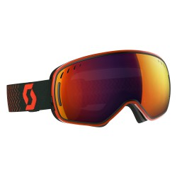 Маска Scott LCG Orange/Black Solar Red Chrome