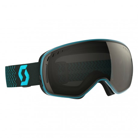 Маска Scott LCG Blue/Black Solar Black Chrome