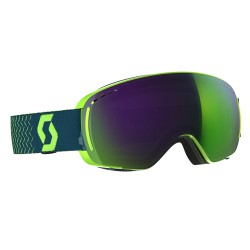 Маска Scott LCG Compact Green/Blue Solar Green Chrome