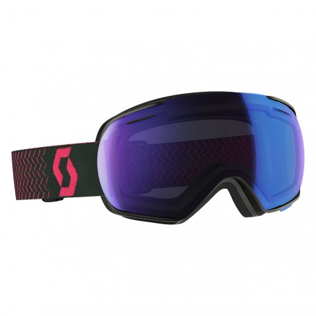 Маска Scott Linx Black/Pink Illuminator Blue Chrome