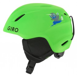 Шлем детский Giro Launch (Matte Bright Green)