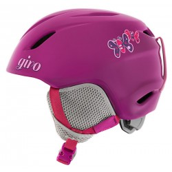 Шлем детский Giro Launch (Berry Butterflies)
