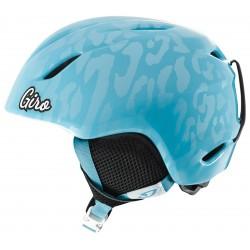 Шлем детский Giro Launch (Milky Blue Leopard)
