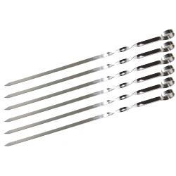 Набор шампуров Time Eco 45 см, BBQ-JR004