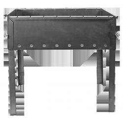 Мангал портативный на 8 шампуров Силумин