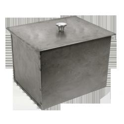 Коптильня двухъярусная Силумин