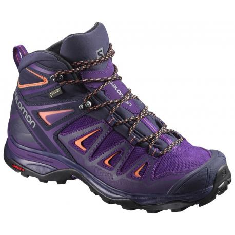 Женские ботинки Salomon Wms X Ultra 3 Mid GTX