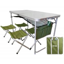 Стол и стулья Ranger ТA 21407+FS21124 с чехлом