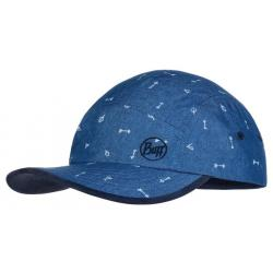 Кепка Buff® Kids 5 Panels Cap Arrows Denim 120058.788