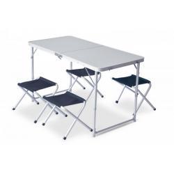 Стол и стулья Pinguin SET TABLE + 4 STOOLS
