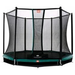 Батут Berg InGround Talent Green 240 см + Safety Net Comfort