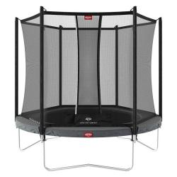 Батут Berg Favorit Regular 200 Grey + Safety Net Comfort