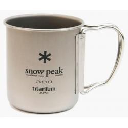 Титановая Кружка Snow Peak Ti-Single Cup 300ml