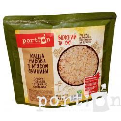 Каша рисовая с мясом свинины Portion