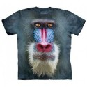 Футболка The Mountain Big Face Mandrill Baboon