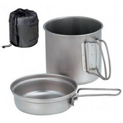 Набор Титановой посуды Snow Peak SCS-008Т (900ml)
